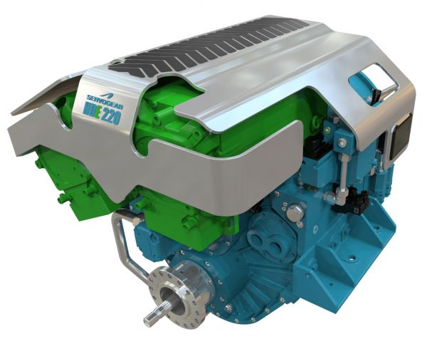 Servogear HDE220 Gearbox - Hybrid solutions for the future - 2017
