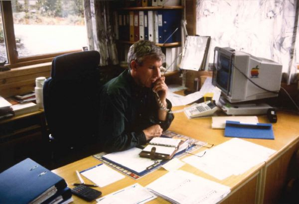 1981 - Arvid Kvernøy enters the position as Managing Director