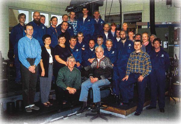 Team Servogear in 1998 - 25th anniversary