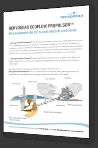 Servogear Ecoflow Propulsor - Leaflet - French