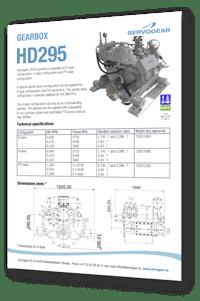 Servogear HD295 gearbox