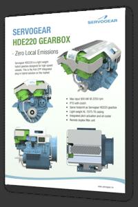 Servogear HDE220 Gearbox
