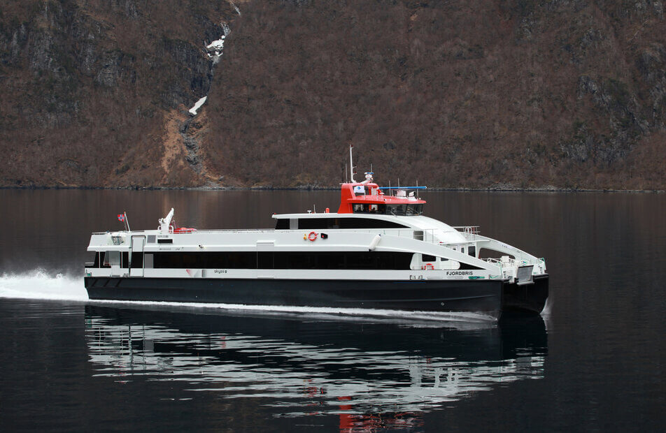 MS Fjordbris - Servogear Ref