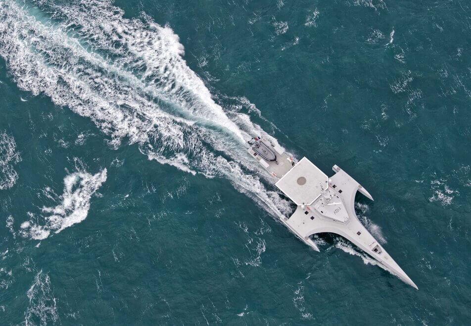 Ocean Eagle 43  - Servogear - Propulsion Efficiency Beyond Belief